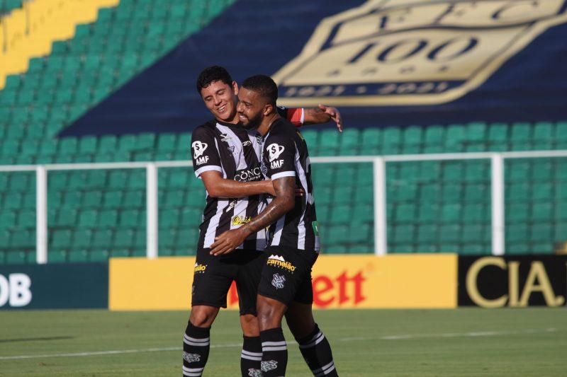Figueirense bate o Brasil-RS por 3 a 0 – Foto: Patrick Floriani/FFC/divulgação