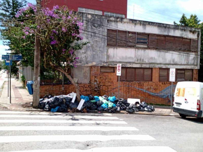 Rua Dom Jaime Câmara, Centro – Foto: Fabio Gadotti/ND