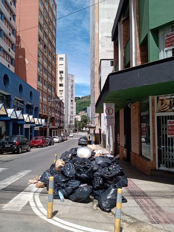 Rua Anita Garibaldi – Foto: Fabio Gadotti/ND