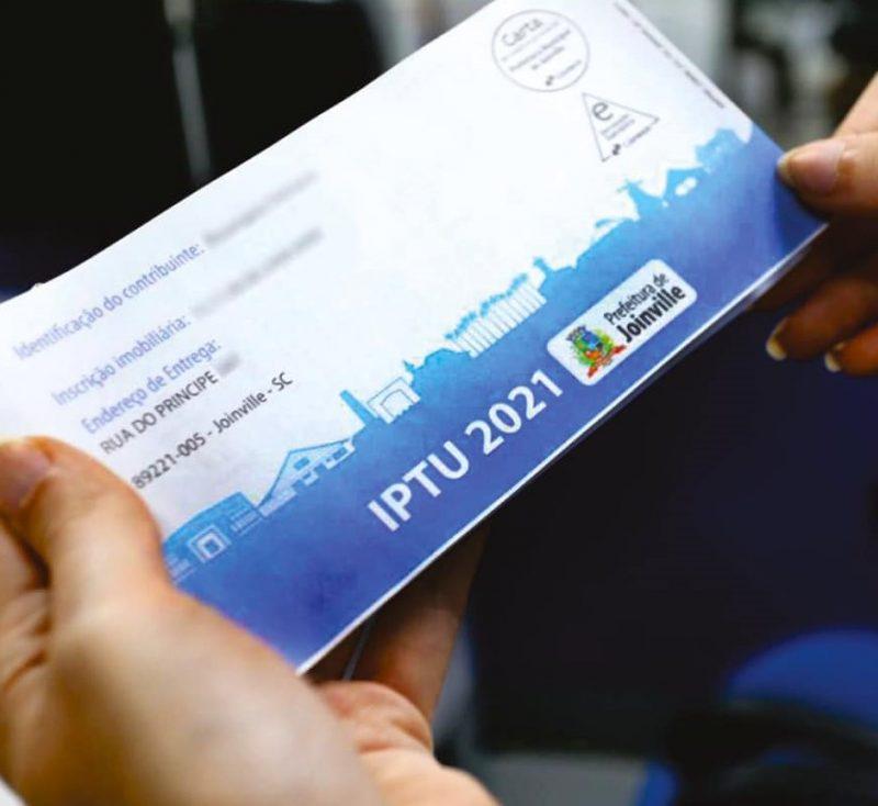 IPTU pode ser pago com desconto em Joinville até a próxima segunda (8) – Foto: Divulgação/ND