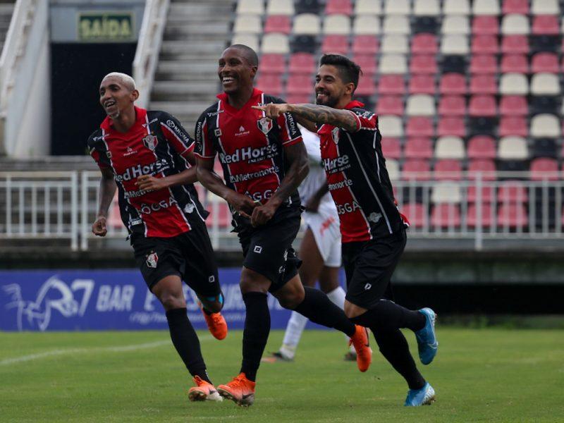 JEC construiu placar ainda no primeiro tempo e assumiu a liderança isolada da Copa SC – Foto: Vitor Forcellini/JEC