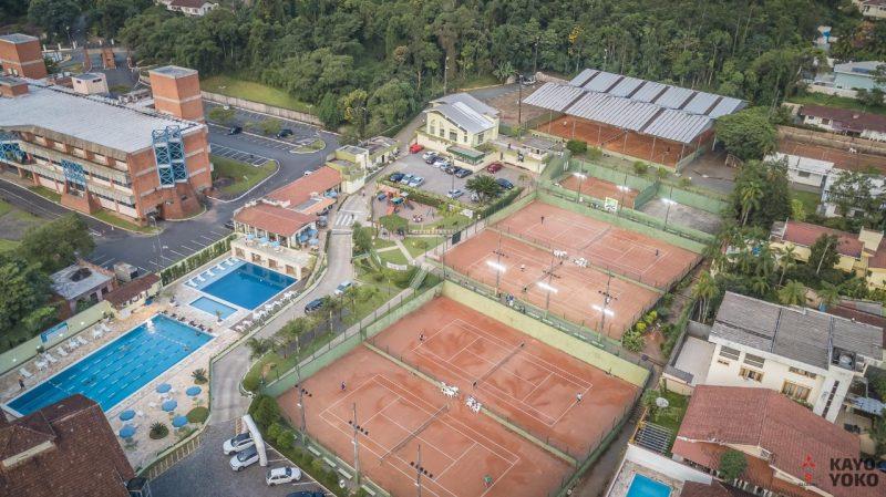 Pedro Boscardin, promessa do tênis joinvilense, é uma das atrações do desafio – Foto: Joinville Tênis Clube/Divulgação