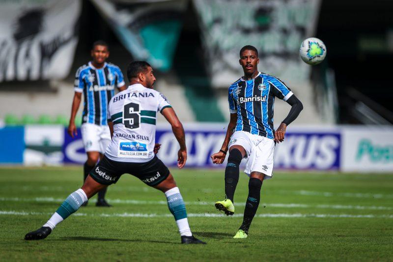 Grêmio empata com o Coritiba no Couto Pereira – Foto: Lucas Uebel/Grêmio FBPA/ND