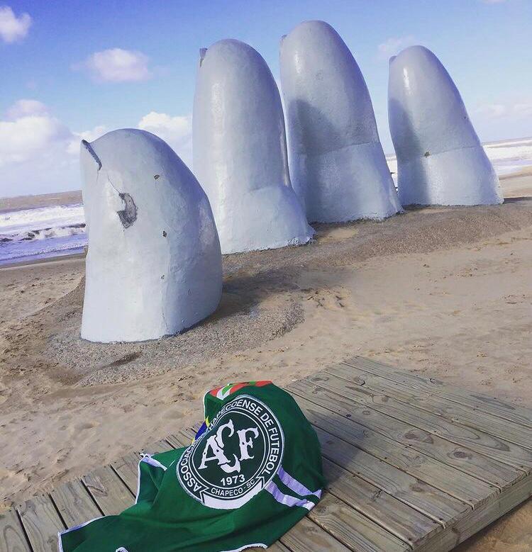 Mano de Punta del Este, no Uruguai. – Foto: Arquivo Pessoal/ND