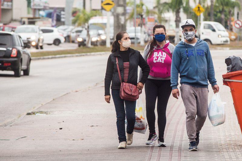 Pessoas flagradas sem máscara serão multadas – Foto: Anderson Coelho/Arquivo/ND