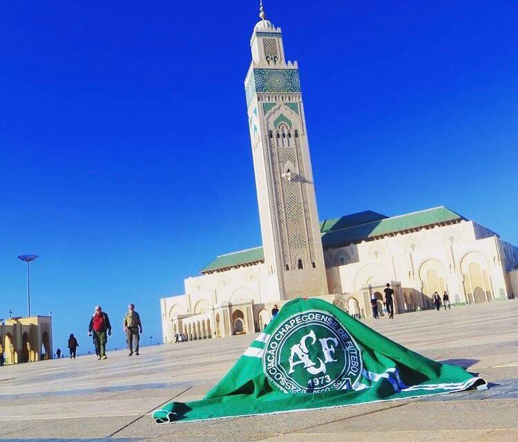Mesquita Hassan II, no Marrocos. – Foto: Arquivo Pessoal/ND
