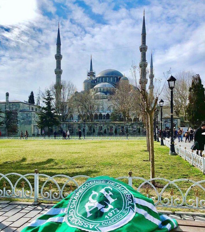 Mesquita Azul, em Istambul. – Foto: Arquivo Pessoal/ND
