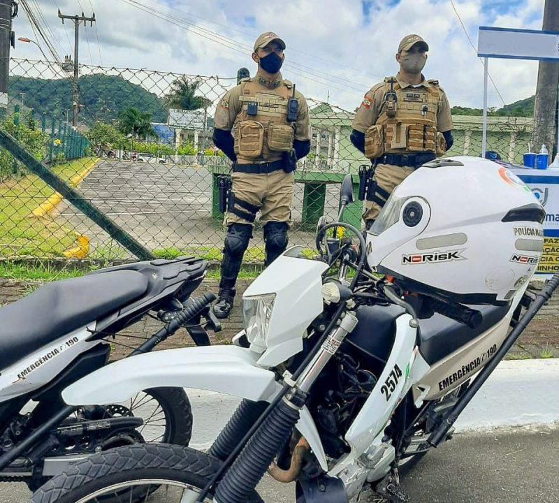 Prisão foi realizada durante operação veraneio deste fim de semana – Foto: Polícia Militar/Divulgação