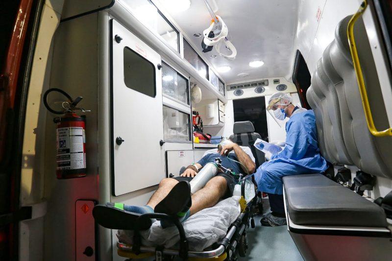 Os pacientes de Manaus foram conduzidos para dois hospitais de SC