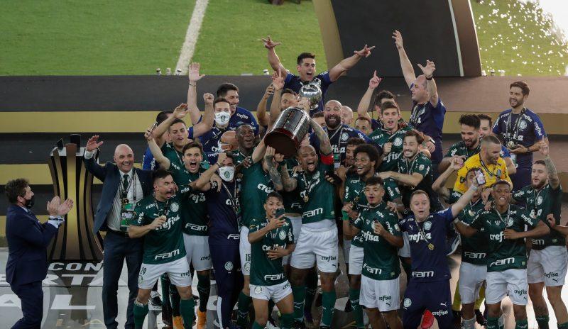 O atual campeão Palmeiras estreará pelo Grupo A no dia 21, quando visitará o Universitario (Peru) – Foto: Conmebol/Divulgação