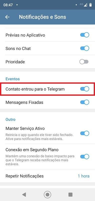 Passo 4 - Crédito: Reprodução/Telegram/33Giga/ND