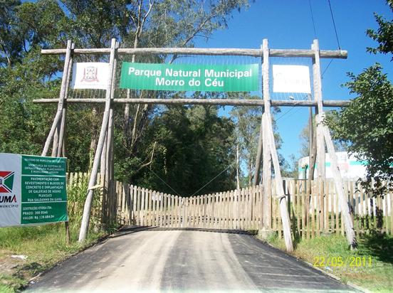 Acesso ao parque está fechado – Foto: Fundação do Meio Ambiente de Criciúma/Divulgação/ND