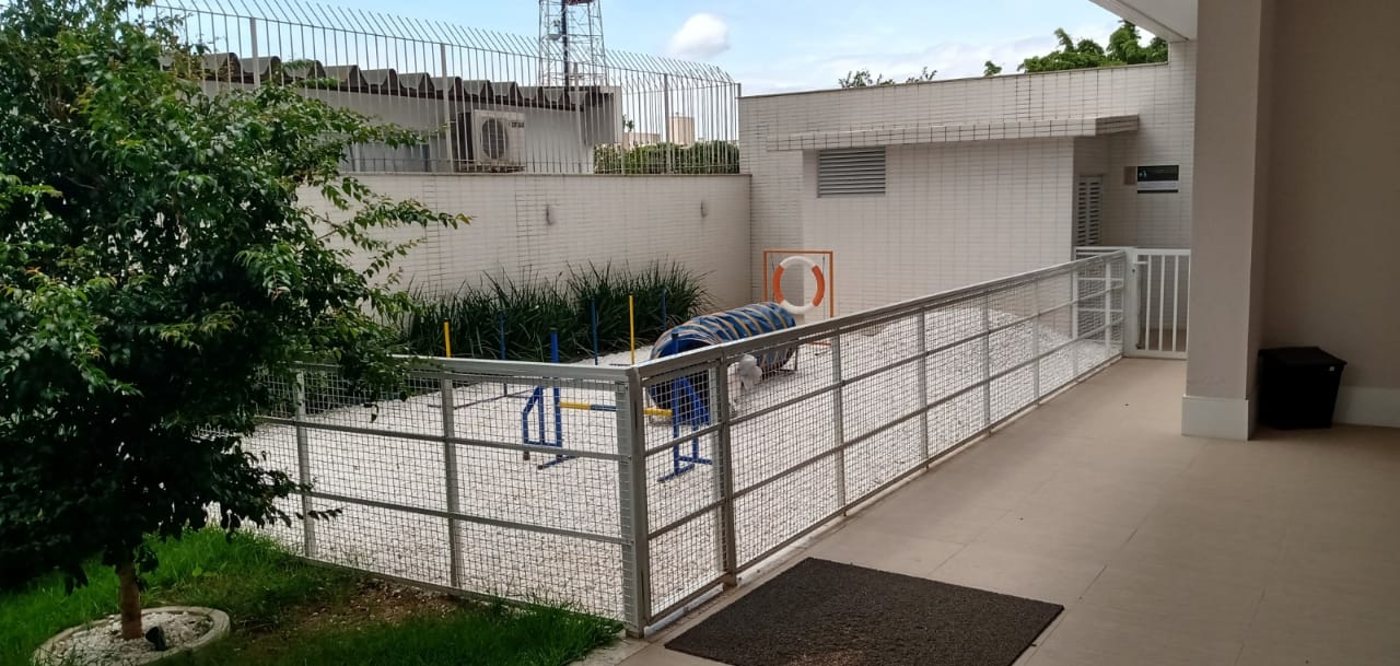 O condomínio Dolce Vitta incluiu o pet place desde o planejamento da obra - AM Construções/Divulgação