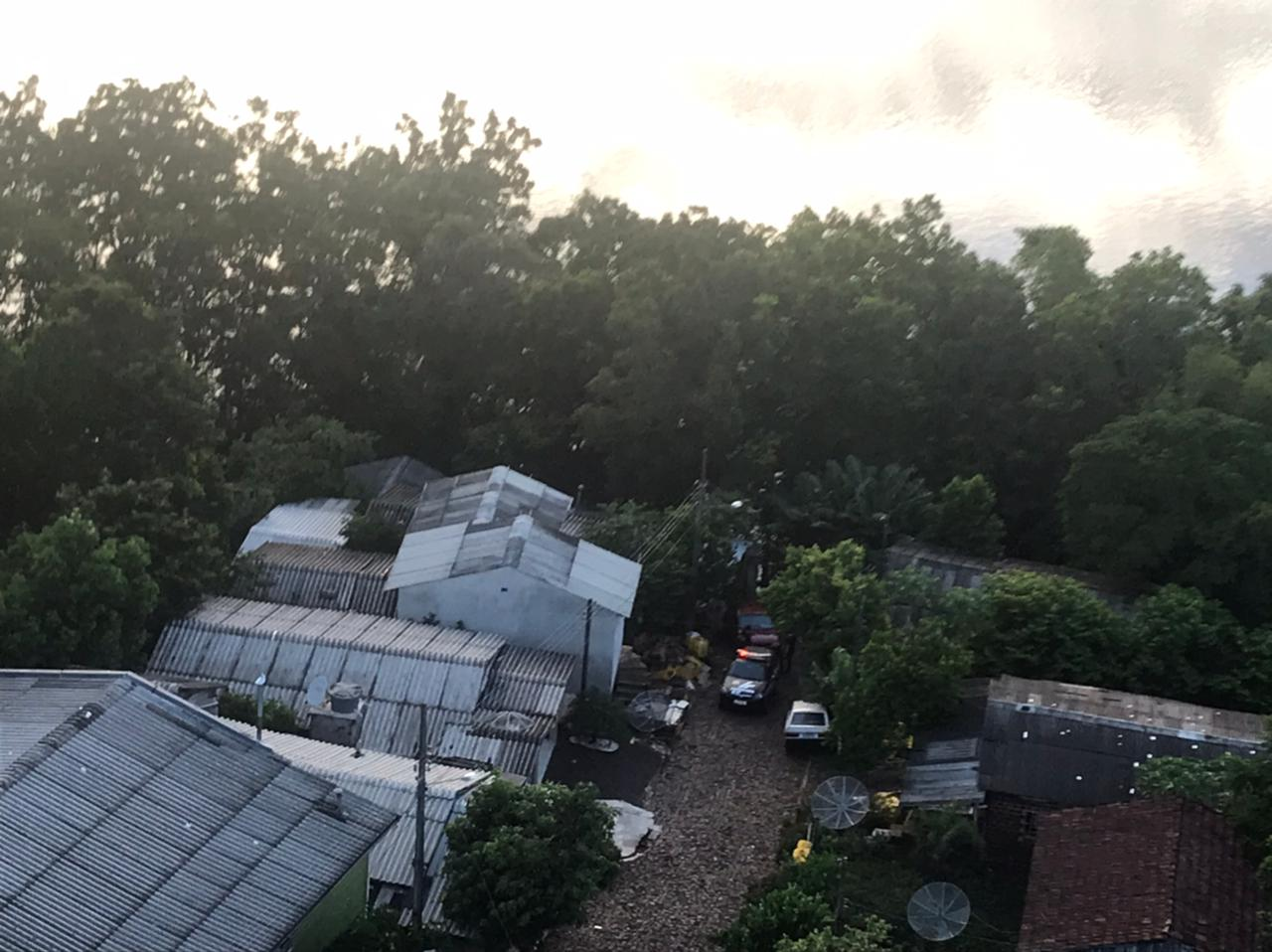 Crime ocorreu no bairro da Gruta em Caibi, no Oeste de SC. - Polícia Civil/Divulgação