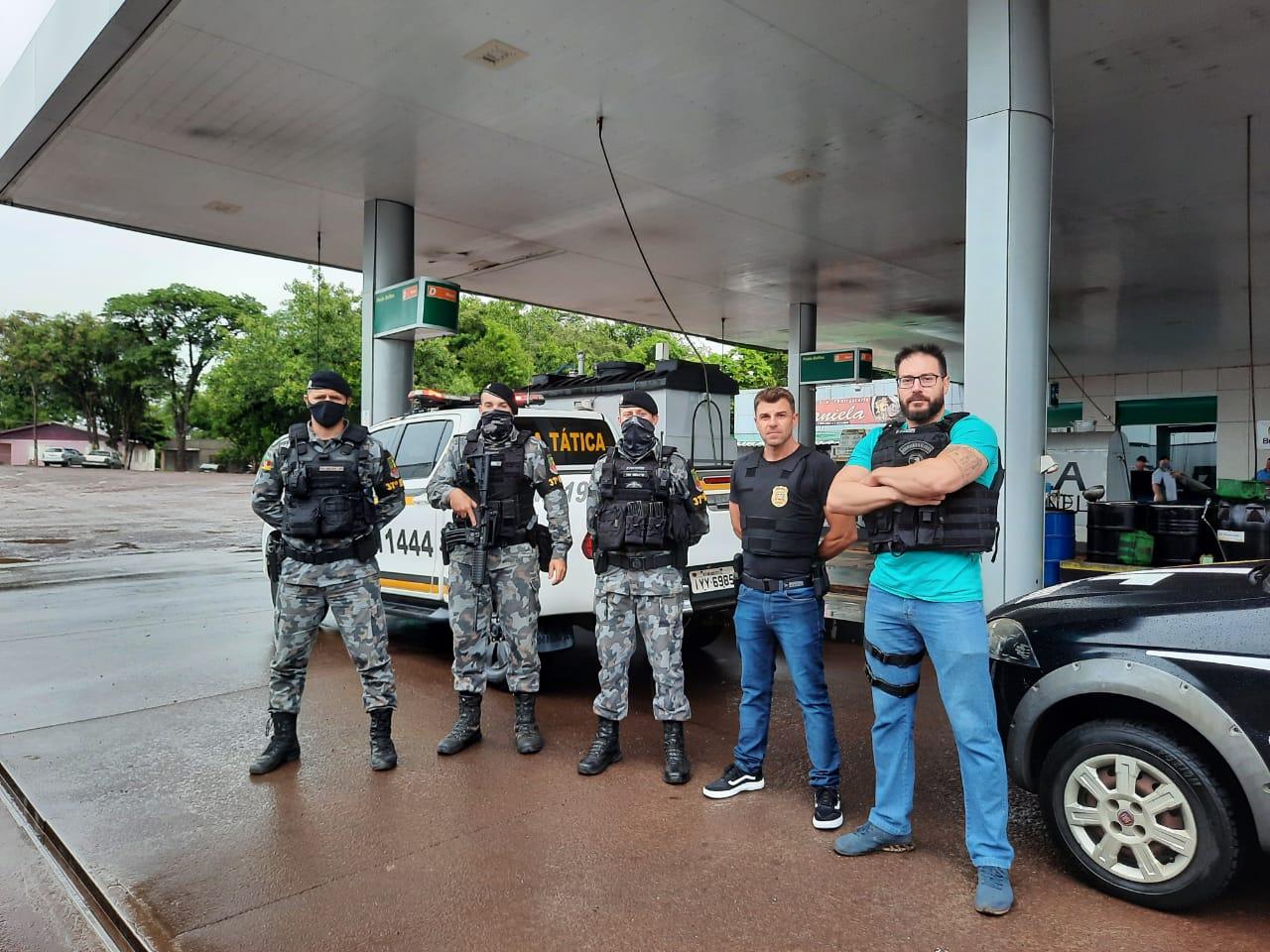 O quarto suspeito foi localizado no Rio Grande do Sul pela Brigada Militar. - Polícia Civil/Divulgação
