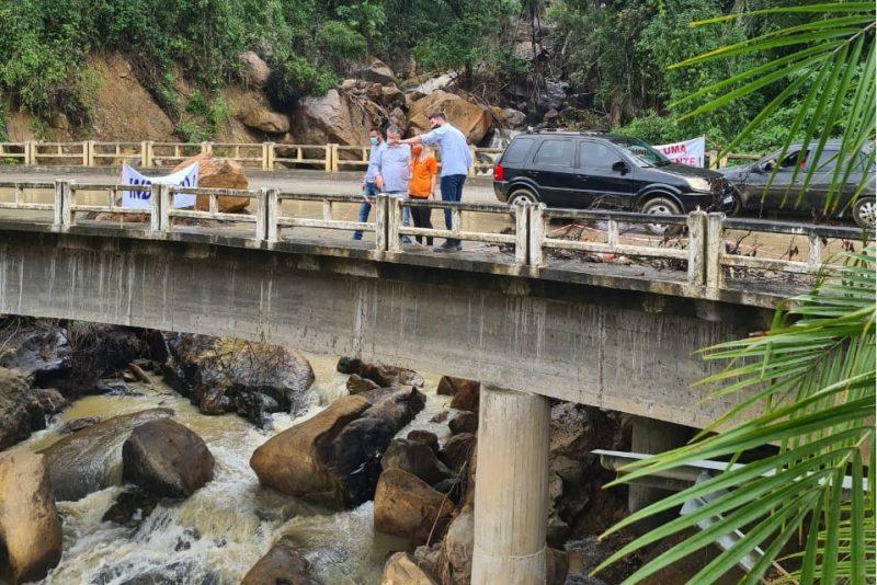 Após pressão, governo inicia obras em rodovia do Alto Vale – Foto: Divulgação / DCSC