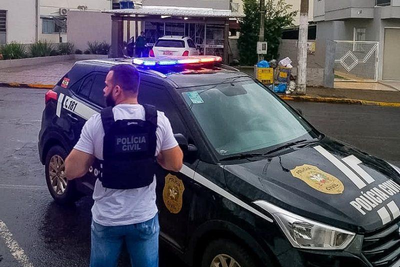 Principal suspeito se apresentou à Polícia Civil após 21 dias foragido – Foto: Polícia Civil/Divulgação/ND