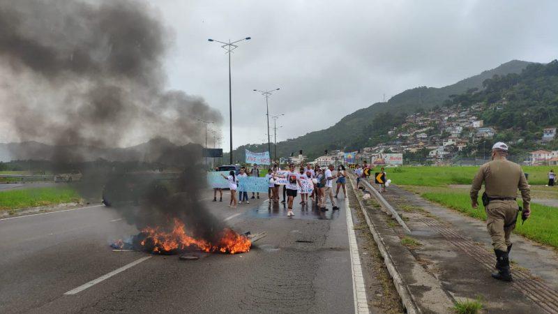 Proposto com fogo na SC-401, por Adriano Lima dos Santos, Naninho