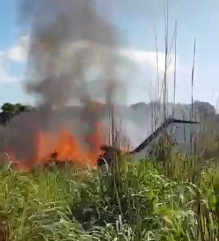 Queda de avião matou piloto e também o presidente e quatro atletas do Palmas F.R. – Foto: Reprodução/Internet
