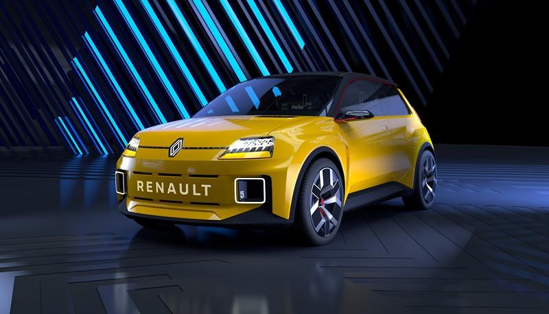 Protótipo do Renault 5 elétrico - Foto: Divulgação/Renault /Garagem 360/ND