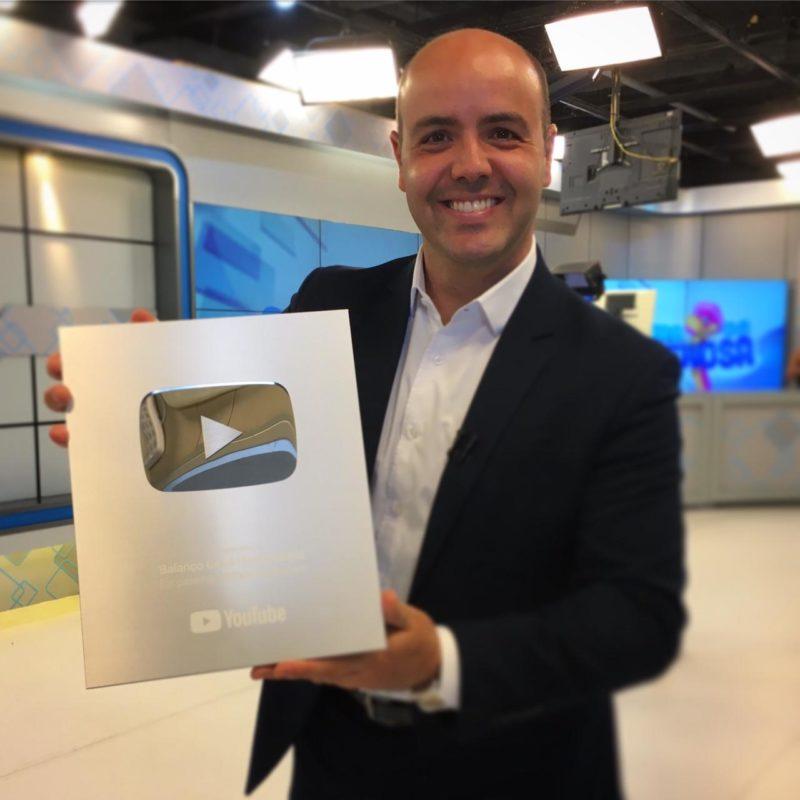 Raphael Polito, apresentador do BG Florianópolis – Foto: Reprodução/ND