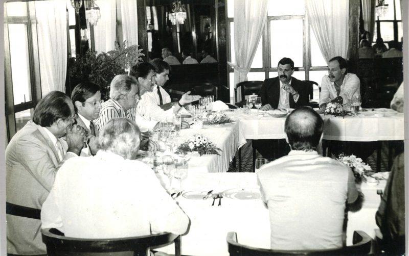 Bastidores da reunião do trade turístico