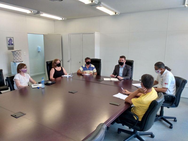 Reunião entre SED e Sinte na última terça-feira – Foto: SED/Divulgação/ND