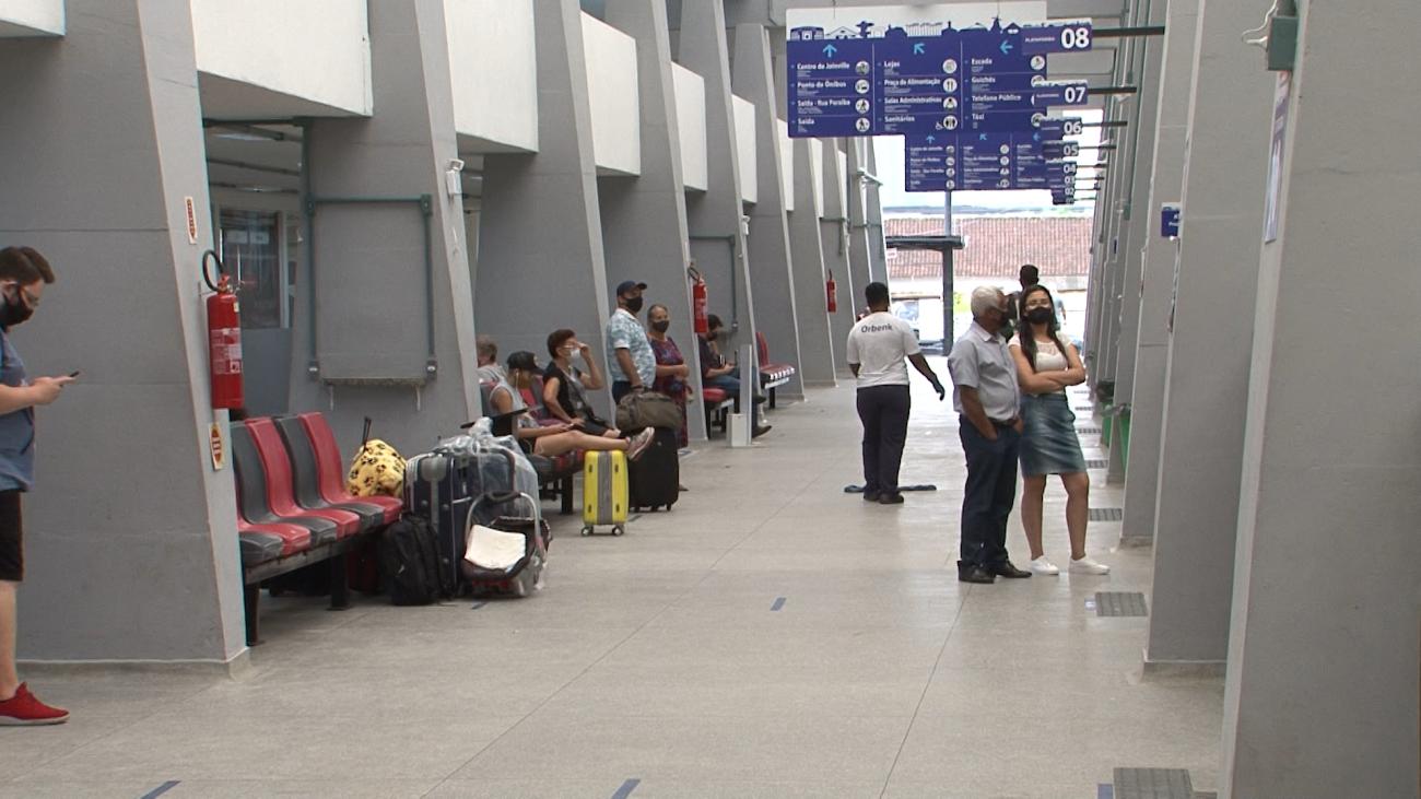 Rodoviária recebeu novas placas de sinalização - Juliano Masselai/NDTV