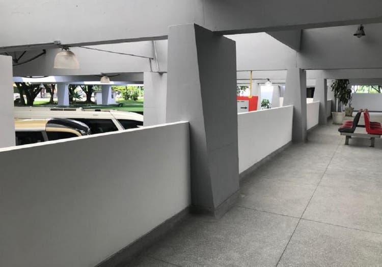 1° andar da rodoviária foi uma das primeiras partes a ter obra concluída - Ipreville/Divulgação