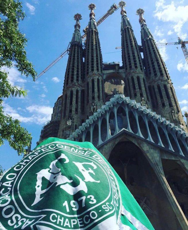 Sagrada Família, em Barcelona. – Foto: Arquivo Pessoal/ND