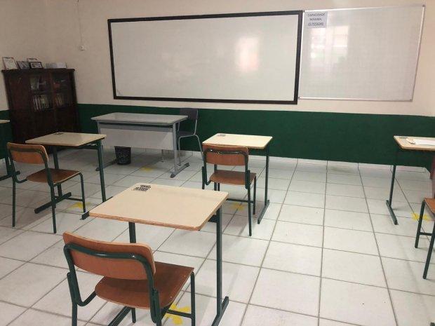Municípios da Grande Florianópolis afrouxaram regras – Foto: SED/Divulgação