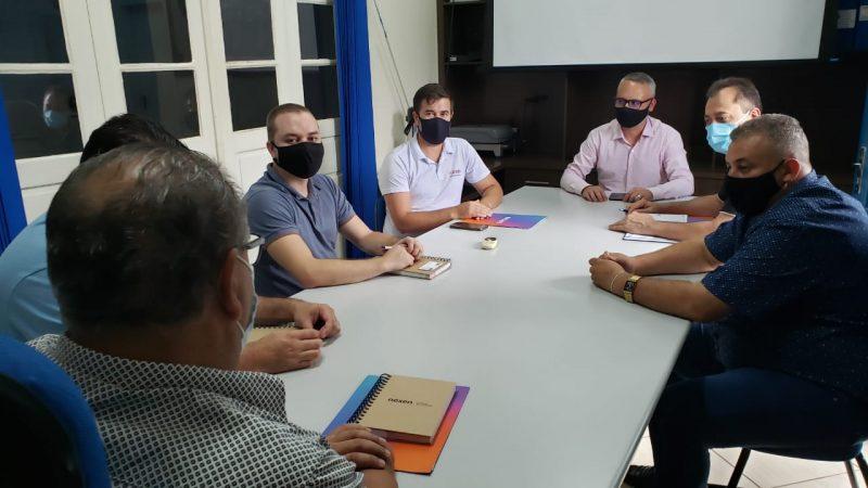 Reunião ocorreu na quinta-feira (28) – Foto: Prefeitura de Piratuba/ND