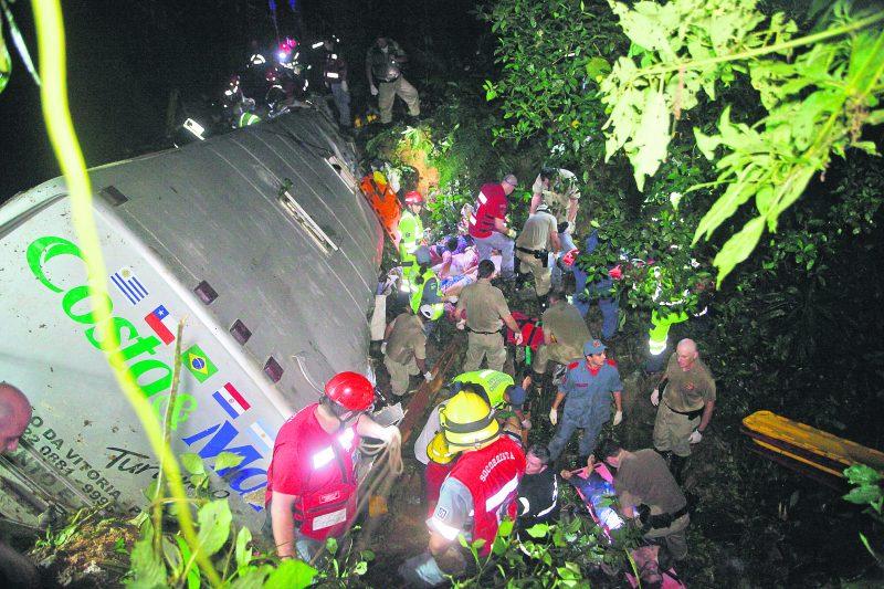 Tragédia da Serra Dona Francisca é a maior da história de Santa Catarina – Foto: Arquivo/Carlos Junior/ND