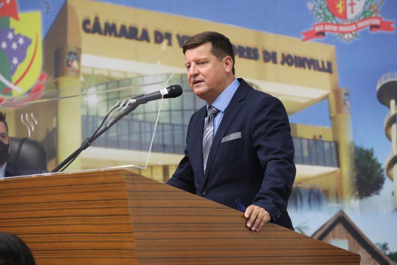 Sidney Sabel, vereador eleito pelo DEM em Joinville – Foto: André Kopsch/ND