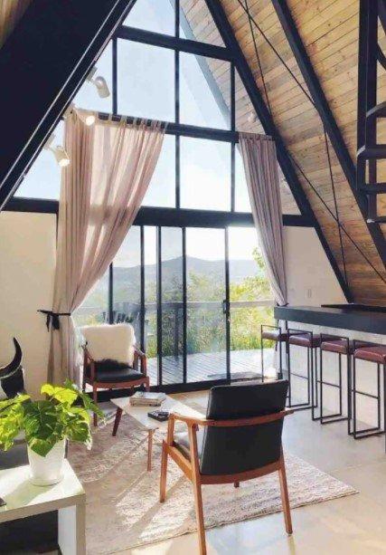 Andressa está aproveitando o local - Reprodução/Airbnb