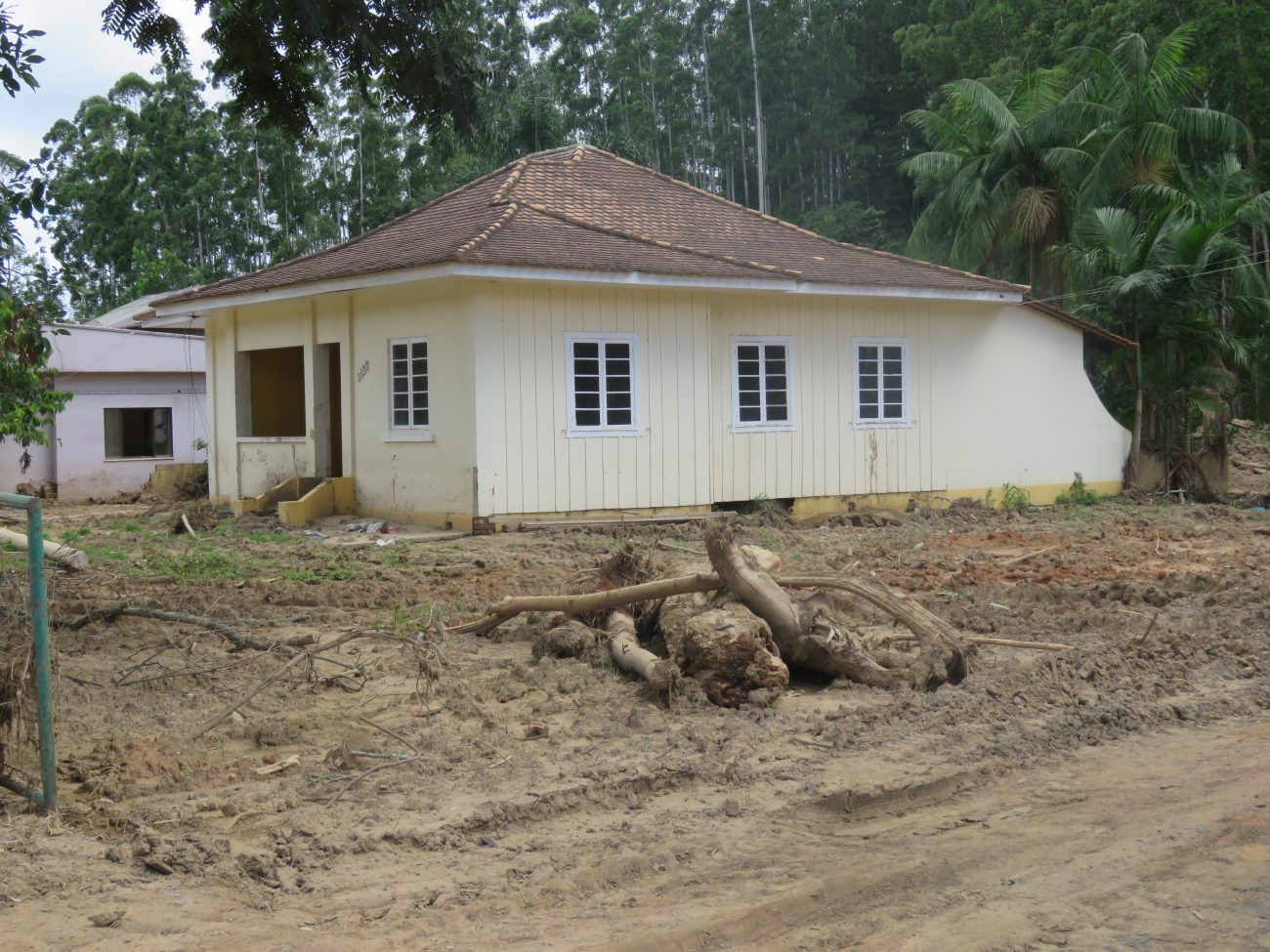 Outras 80 residências foram afetadas pelas chuvas de 16 de dezembro de 2020 - Talita Catie/ND