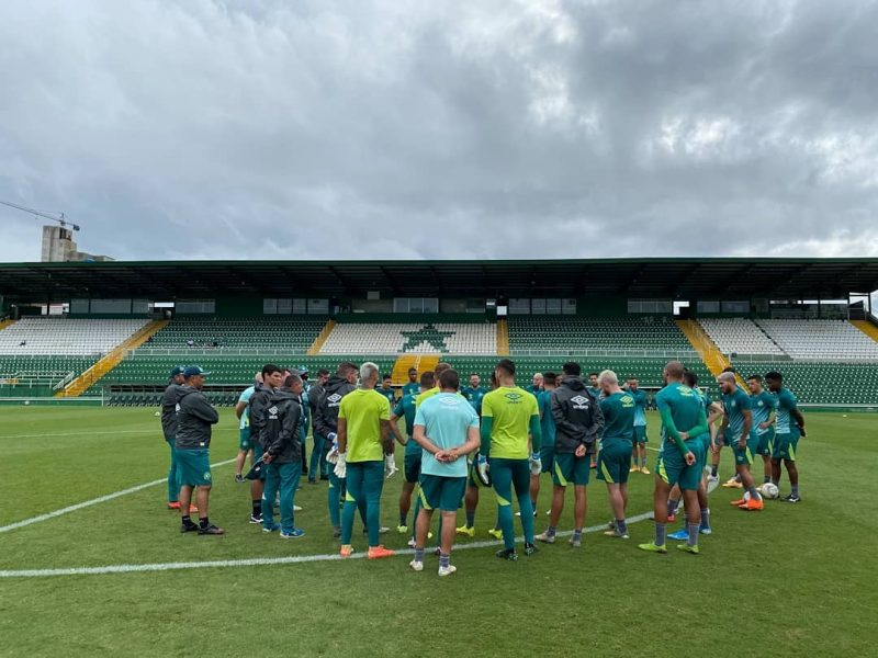Chapecoense está pronta para encarar o Confiança – Foto: Márcio Cunha/Chapecoense/ND