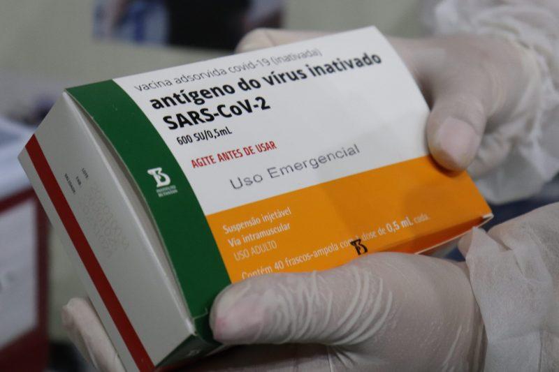 Saiba como está o estoque de vacinas contra a Covid-19 nas principais cidades do Vale– Foto: Elisiane Roden / Prefeitura de Gaspar