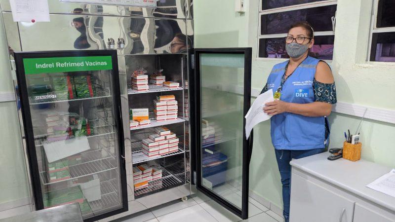 Vacinas chegaram em Joinville na manhã desta terça-feira (19) – Foto: Juan Todescatt/NDTV