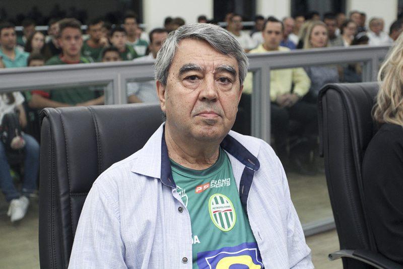 Valdair Matias, presidente do Metropolitano – Foto: Divulgação / CMB