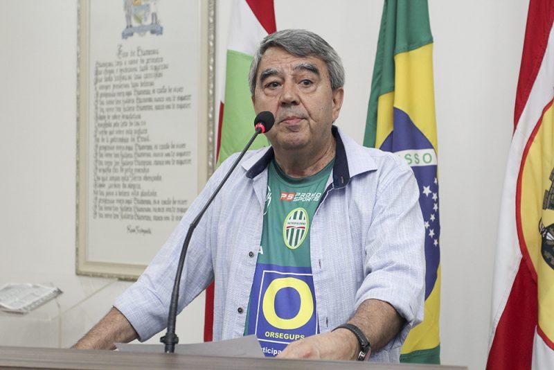 Valdair Matias segue na presidência do Metropolitano – Foto: Divulgação / CMB