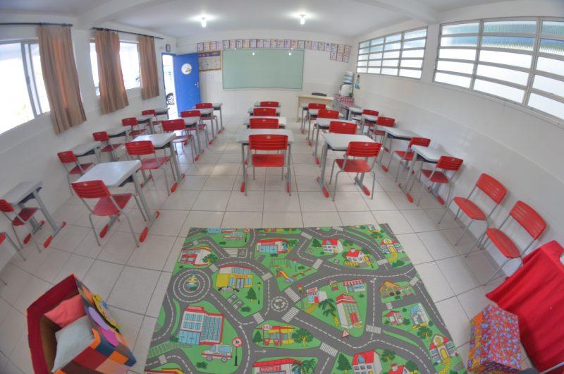 Professores de Itajaí se preparam para o retorno às aulas presenciais – Foto: Marcos Porto/SECOM/Divulgação/ND