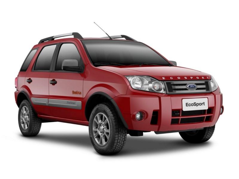 Ford EcoSport 1.6 Freestyle 2012 - R$ 38.990 - Foto: Divulgação/Ford /Garagem 360/ND