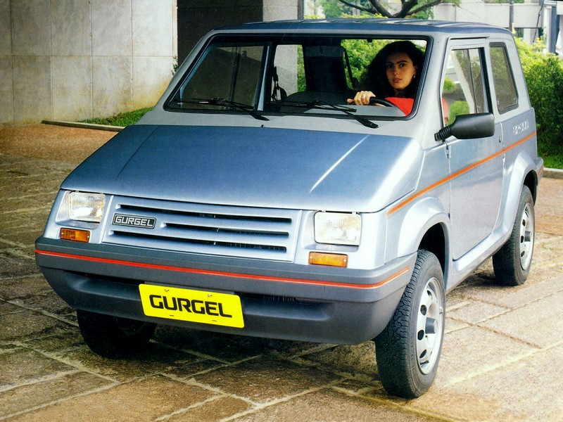 Gurgel BR-800 1991 - R$ 7 mil - Foto: Divulgação/Gurgel /Garagem 360/ND