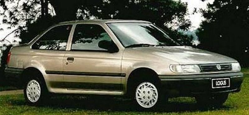 Volkswagen Logus CLI 1.6 1996 - R$ 10 mil - Foto: Divulgação/VW /Garagem 360/ND