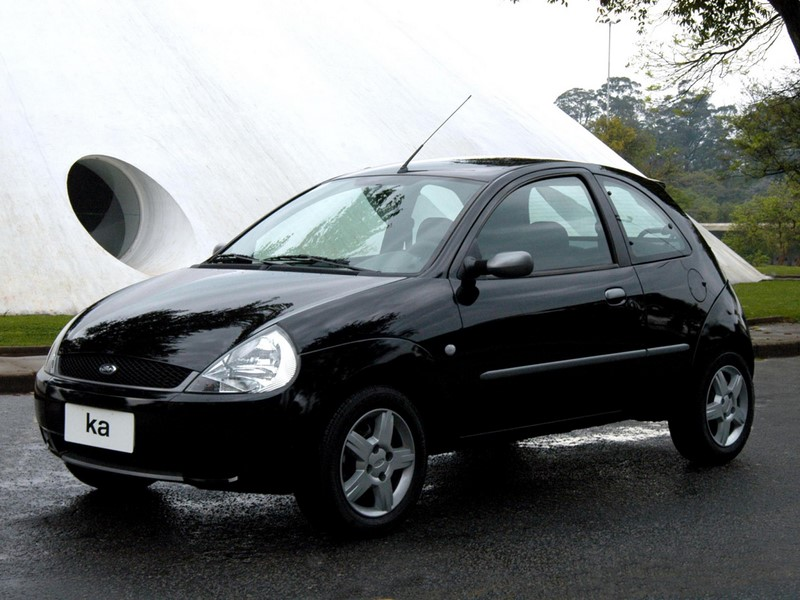 Ford Ka 1.0 GL 2002 - R$ 8.500 - Foto: Divulgação/Ford /Garagem 360/ND