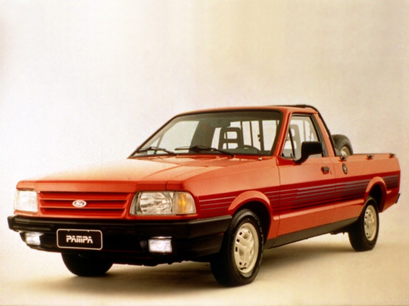 Ford Pampa L 1.6 1996 - R$ 7.500 - Foto: Divulgação/Ford /Garagem 360/ND