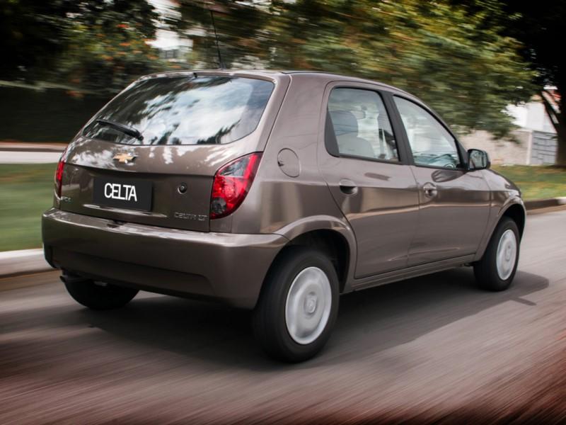 Chevrolet Celta LS 2014 - R$ 18.100 - Foto: Divulgação/Chevrolet /Garagem 360/ND