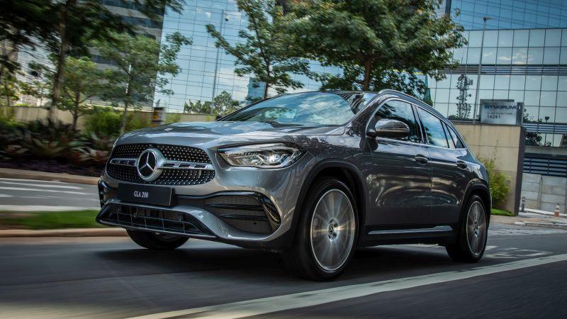 Mercedes-Benz inicia pré-venda do novo GLA por R$ 325.900 - Divulgação/Daimler