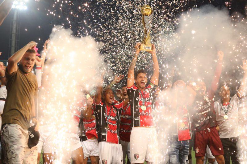 Além do título, JEC conquistou a vaga na Copa do Brasil – Foto: Vitor Forcellini/JEC